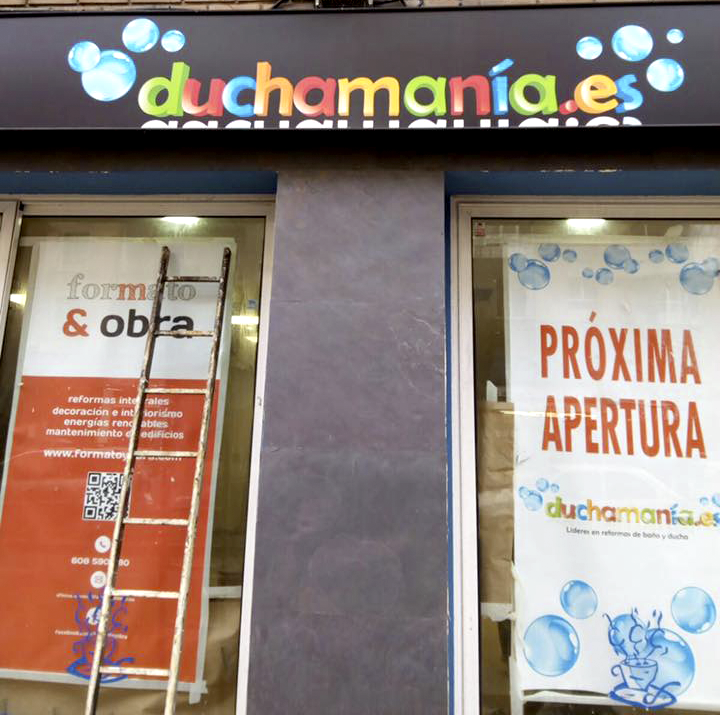 Nuestro local actual en proceso de reforma